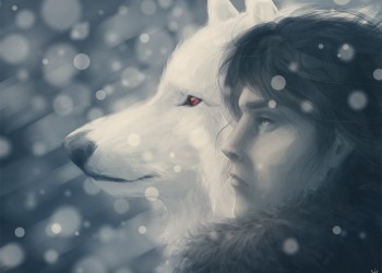 Jon Snow (50 Themes Challenge #32: Snow)