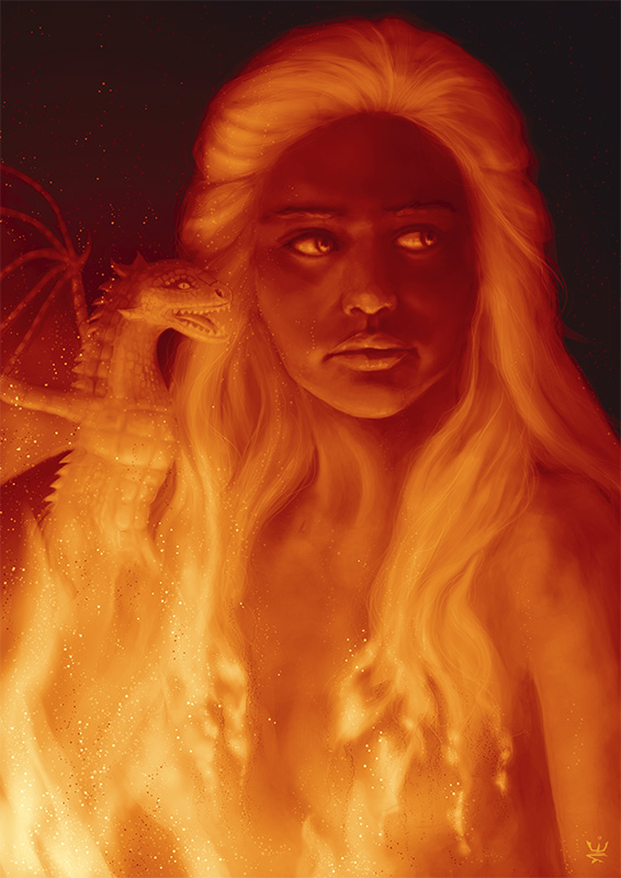 Daenerys Targaryen (50 Themes Challenge #44: Through the Fire)