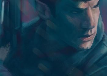 Spock (Fanart for Star Trek: Into Darkness) by Esther Wagner)
