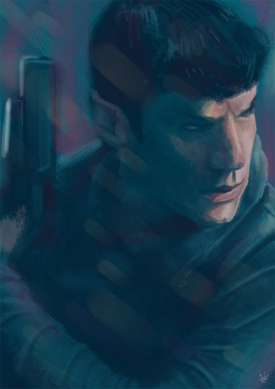 Spock (Fanart for Star Trek: Into Darkness) by Esther Wagner)