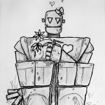 Robot in Love ((c) Esther Wagner)