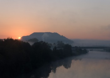 October Sunrise in Saarlouis (by Esther Wagner)