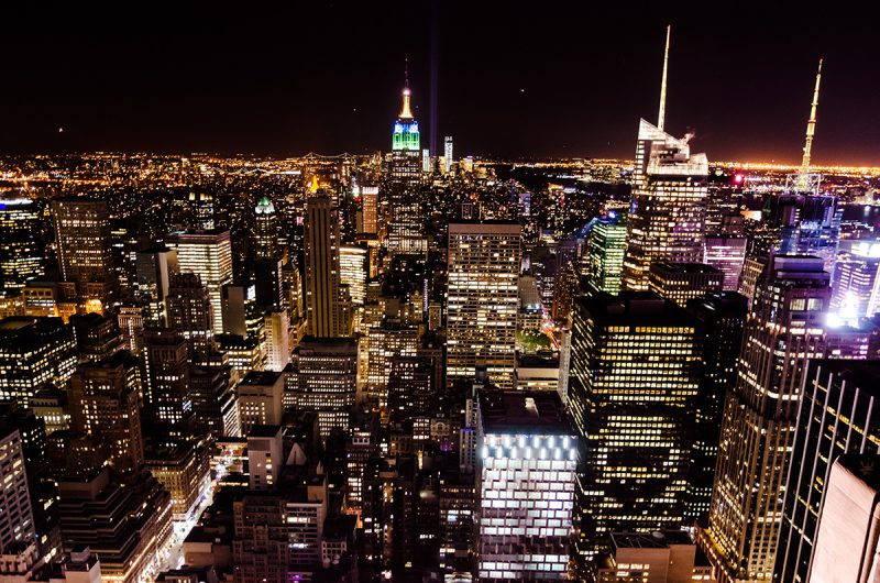 Manhattan by Night (photo (c) Esther Wagner)