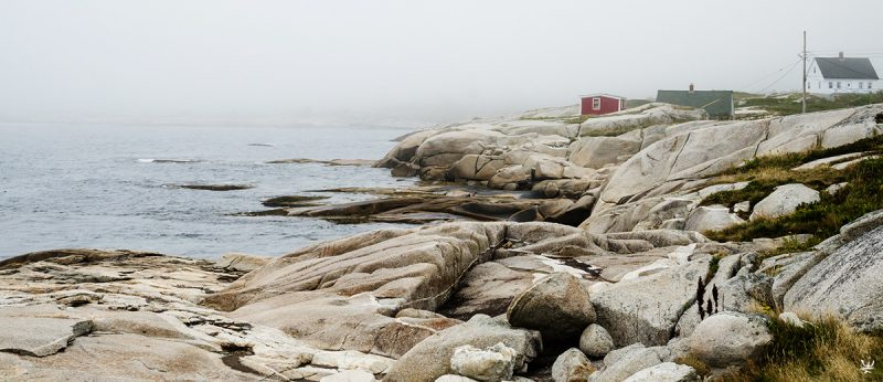 Peggy's Cove fishing village (photo (c) Esther Wagner