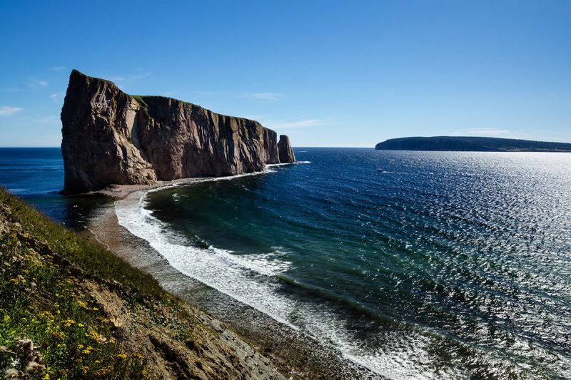 La Roche Percé at Gaspé (photo (c) Esther Wagner)