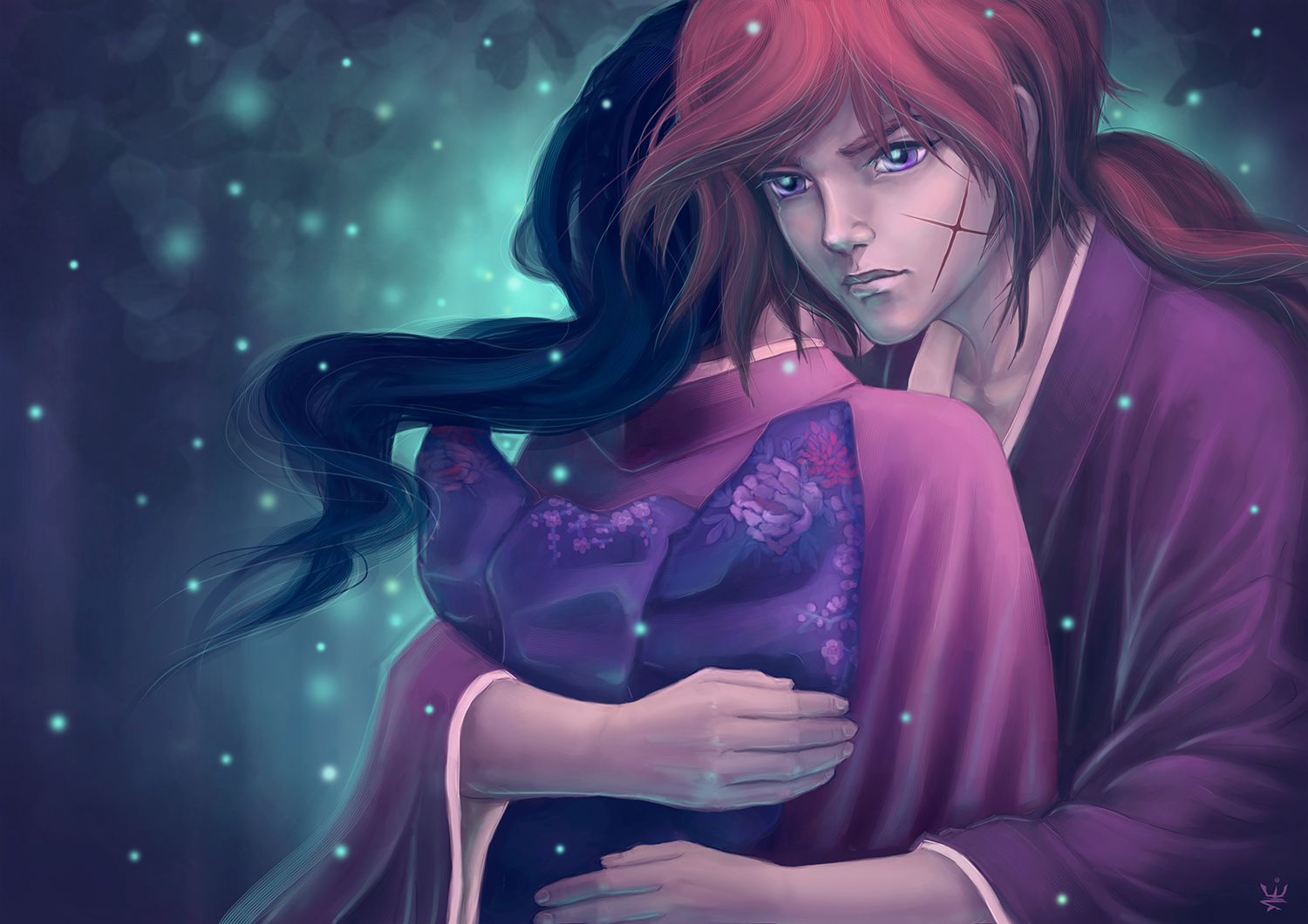 Fireflies (Rurouni Kenshin) by Esther Wagner