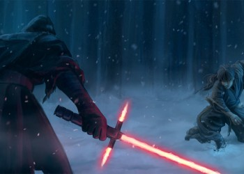 Jedi vs. Sith (Star Wars - The Force Awakens) by Esther Wagner