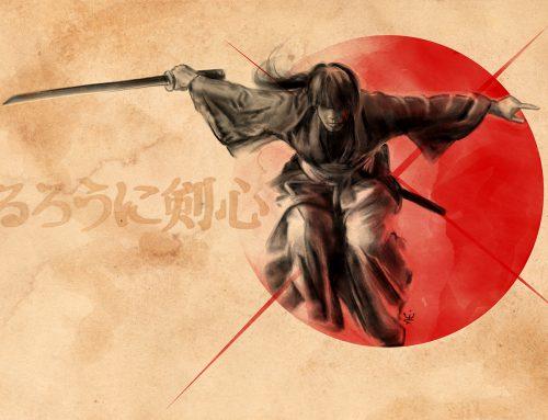 Rurouni Kenshin (ink style)
