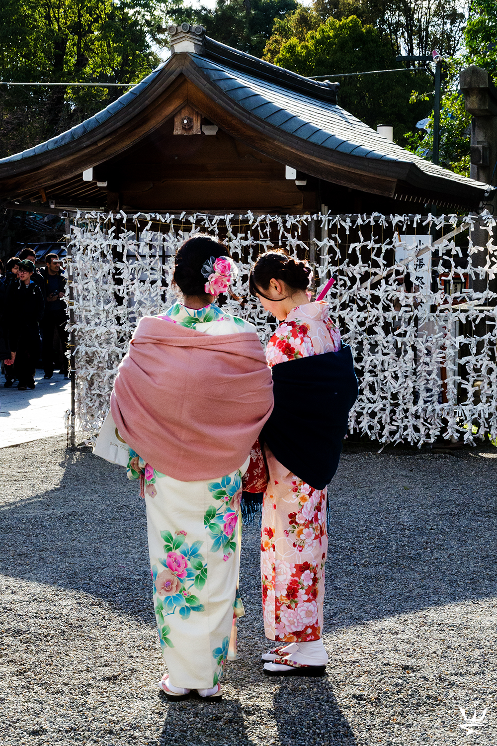 Kimono Girls in Kyoto (photo (c) Esther Wagner)