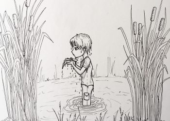Inktober 13 - Does my story end here? (c) Esther Wagner