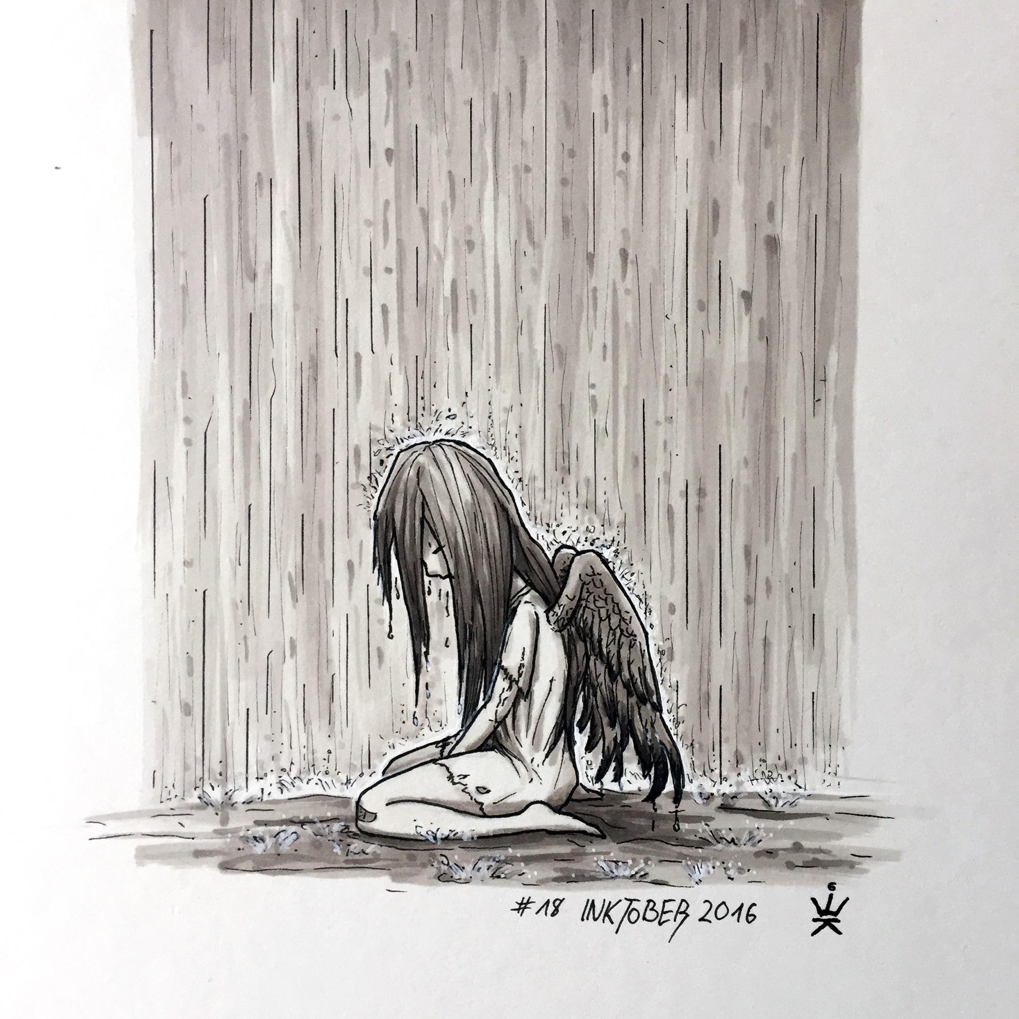 картинки в скетчбук грустные нужно