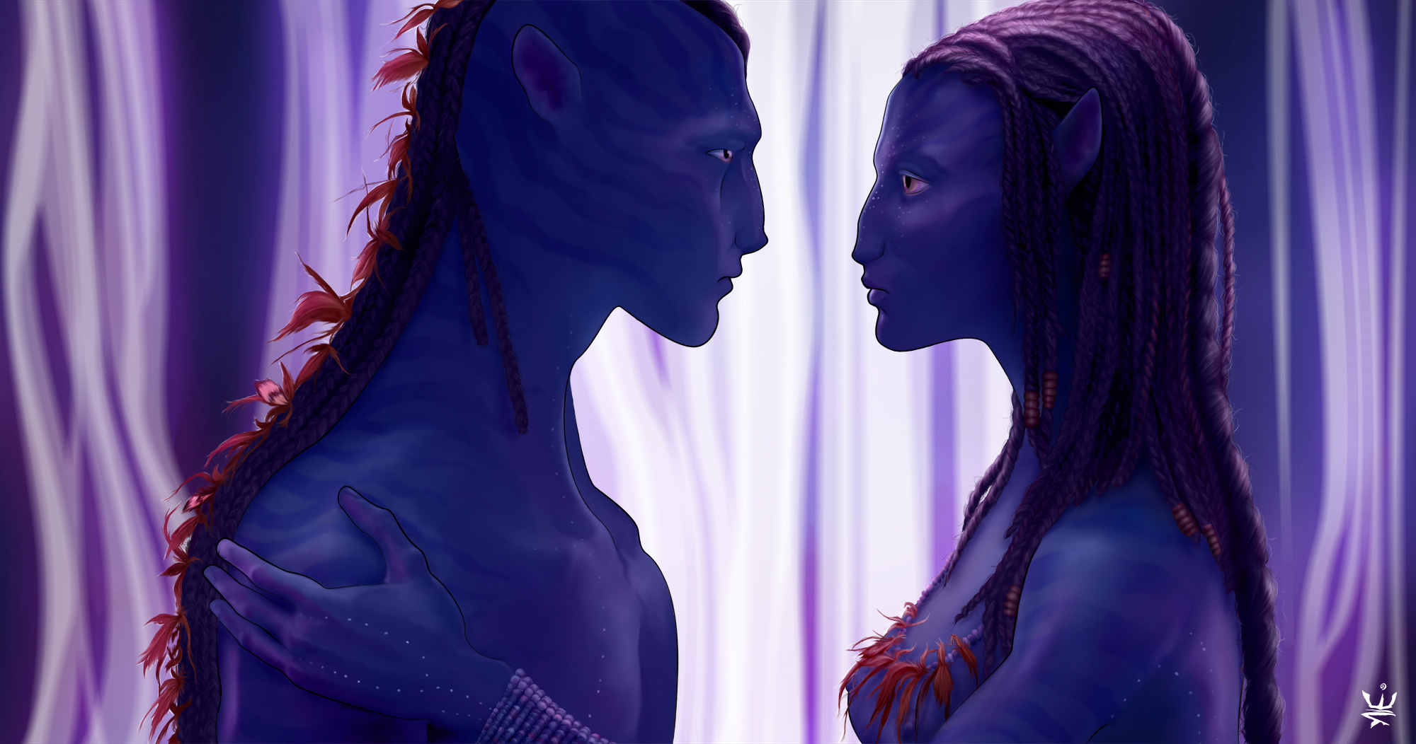 SoulMates (Avatar fanart) by Esther Wagner