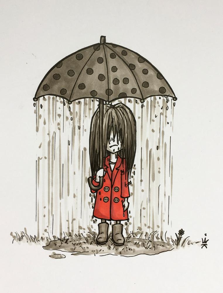 Regenschirm (c) Esther Wagner